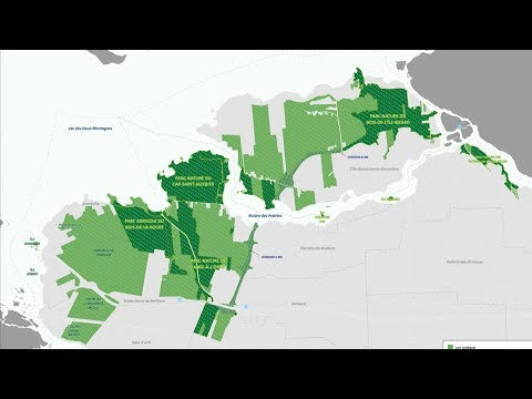 West Island residents welcome the Grand parc de l'Ouest plan