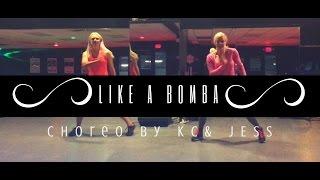 LIKE A BOMBA BY DENORECORDS - Zumba Dance Fitness Choreo by KC and JESS