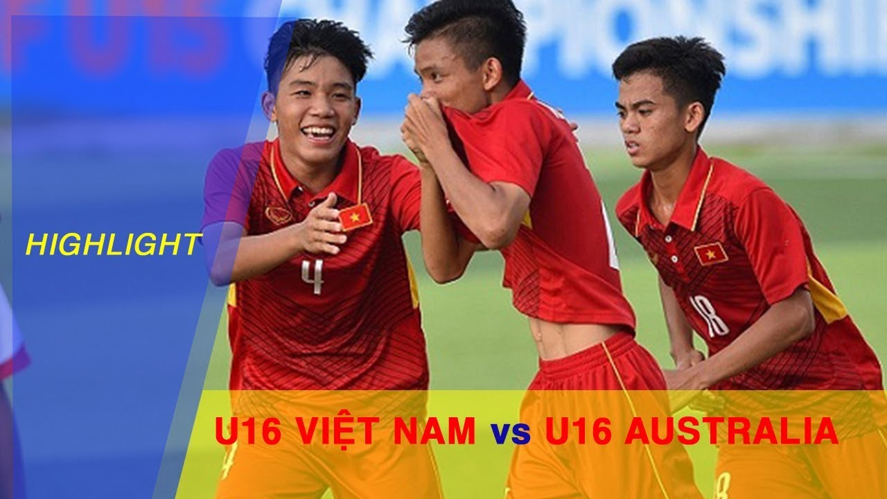 highlight-để-thua-u16-australia-u16-việt-nam-khng-thể-tự-định-đoạt-số-phận