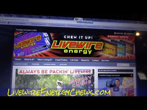 Live Wire LVVV Product Order Received Livewire Energy Chew