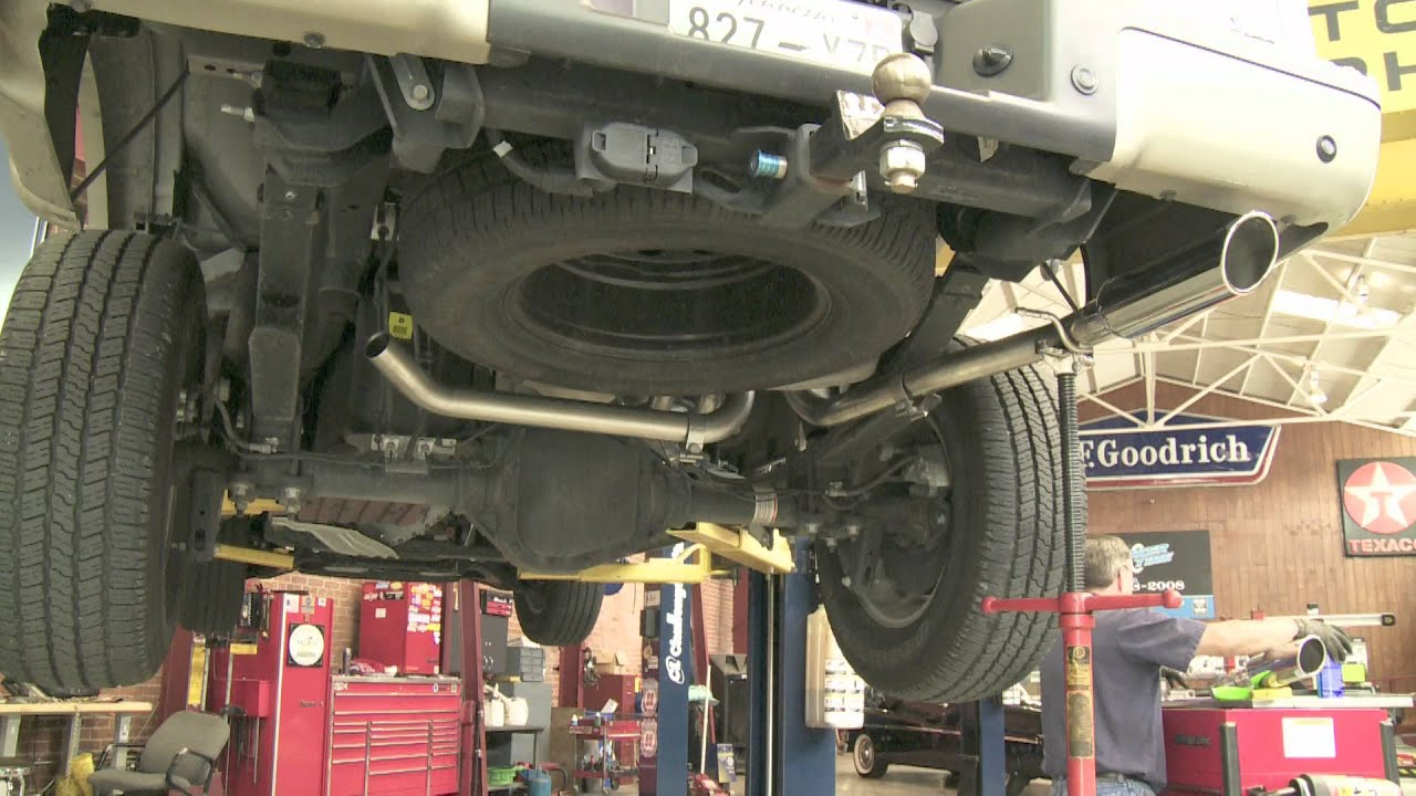 Corky Installs A Borla Exhaust System On His 2010 King