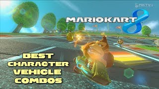 Mario Kart 8 - Best Character / Vehicle Combinations (Time Trials and Online Discussion)