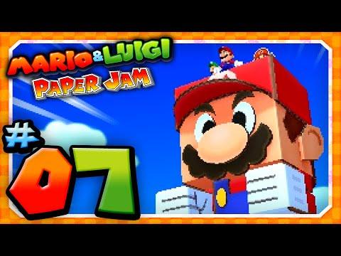 Papercraft Mario and Luigi: Paper Jam - Part 7: Papercraft Mario vs Papercraft Megacrinkle Goomba!