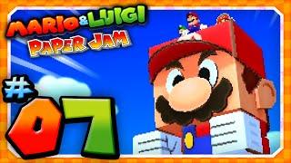 Mario and Luigi: Paper Jam - Part 7: Papercraft Mario vs Papercraft Megacrinkle Goomba!