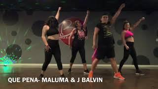 QUE PENA- MALUMA & J BALVIN