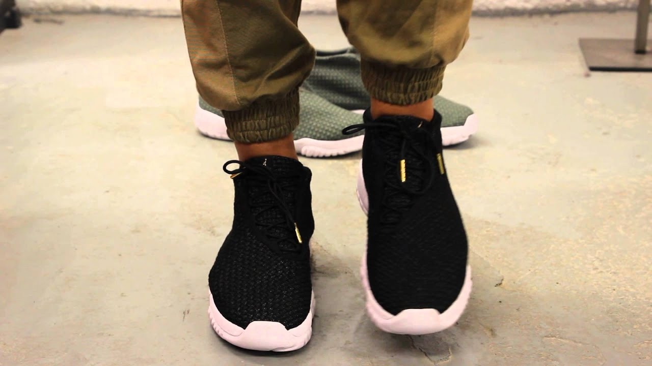 b813136e47f1b7 closeout air jordan future black white on feet video at exclucity youtube  18207 1bf78