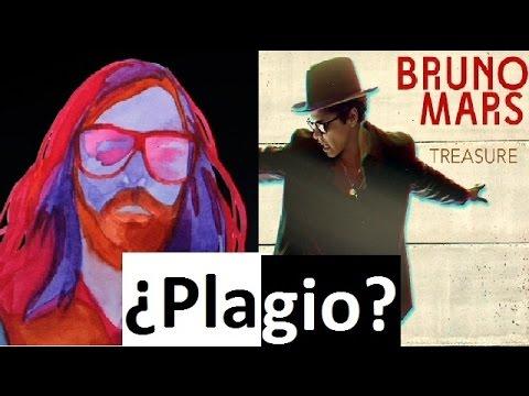 ¿Plagio? Bruno Mars VS Breakbot: Treasure (2012) -  Baby Im Yours (2010) comparison