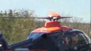 EC135 cool landing