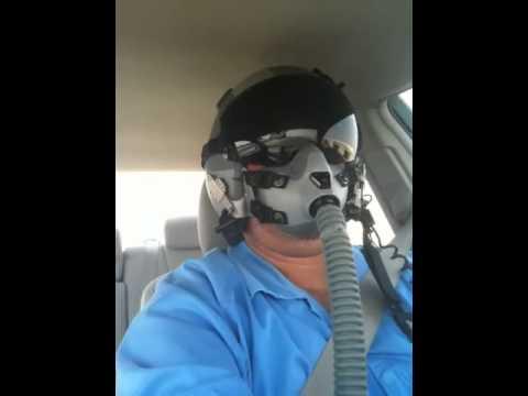 Fighter Jet Pilot Mask