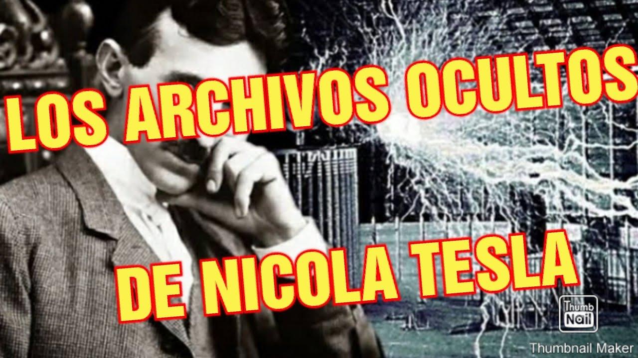 ⚠️????LOS ARCHIVOS SECRETOS..|| DE NICOLA TESLA|| ¿POR QUE LO OCULTAN?..