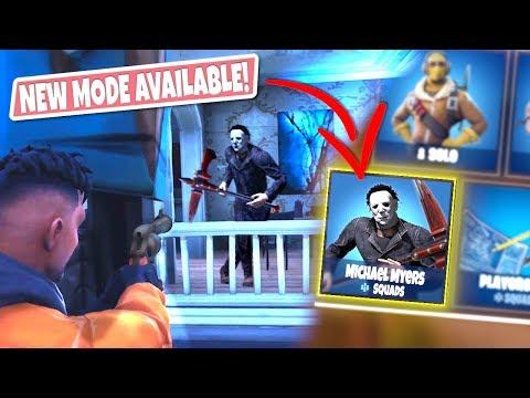*NEW GAMEMODE* MICHAEL MYERS Custom Gamemode In Fortnite Battle Royal! (DEFEND THE HOUSE!)