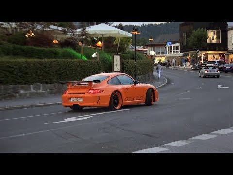 Drive It Like You Stole It!  Porsche 997 GT3 RS Powerslides & Accelerations
