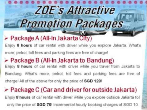 Airport Transfer in Jakarta, www.zoecarbooking com