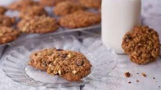 breakfasr recipes Wholewheat honey oats cookies Eggless   YouTube