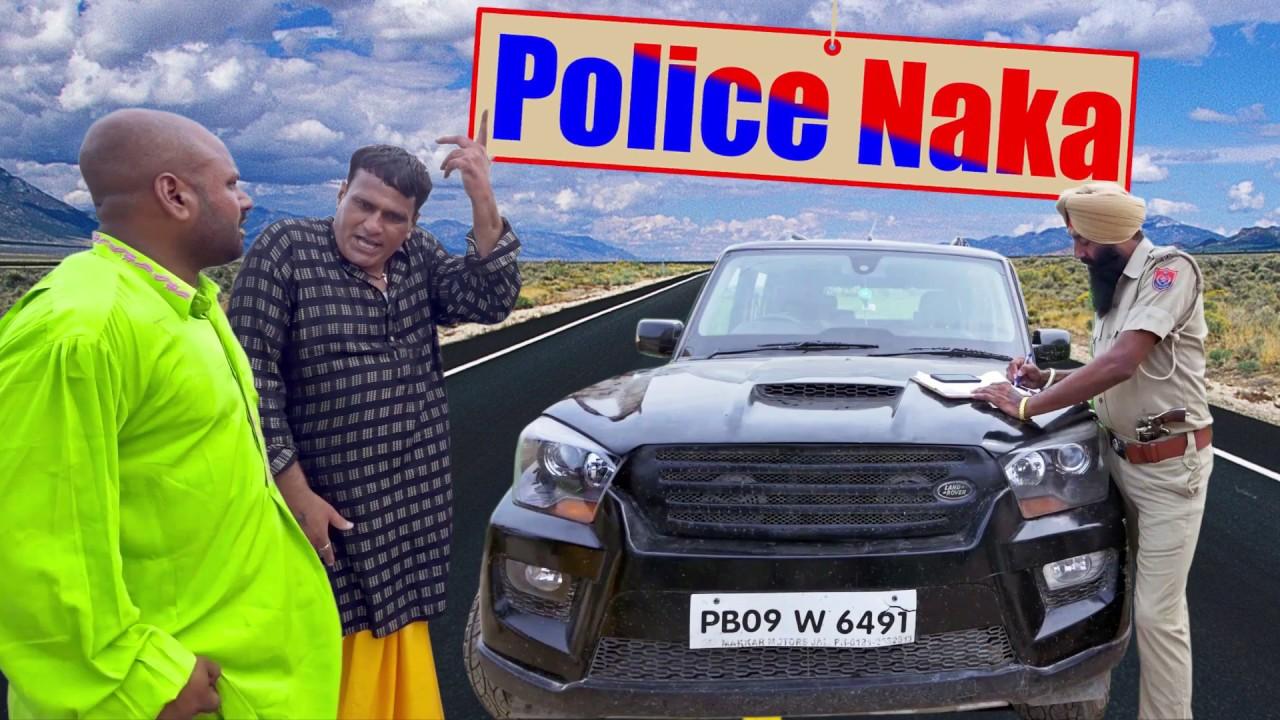 New Punjabi Comedy 2018 | Mintu Jatt | Police Naka | New Comedy 2018 Goya Music