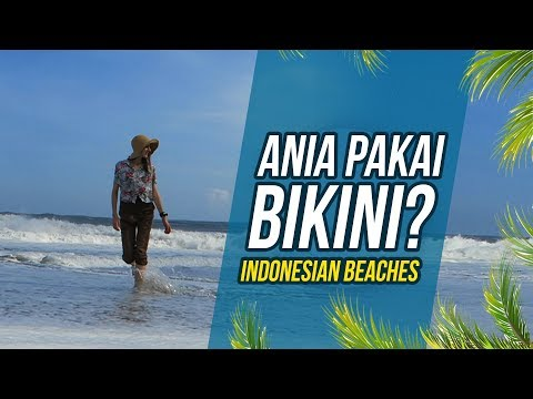 Indonesian beaches - Globe in the Hat #18
