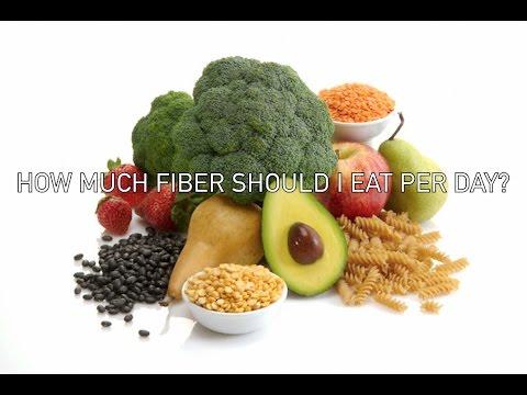 How Much Fiber Should I Eat Per Day?