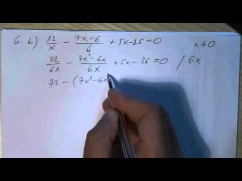 10. o. A másodfokú egyenlet 02 (5., 6.)