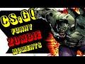 CSGO: Zombie Custom Map - Funny Moments - Easter Egg Revealed?