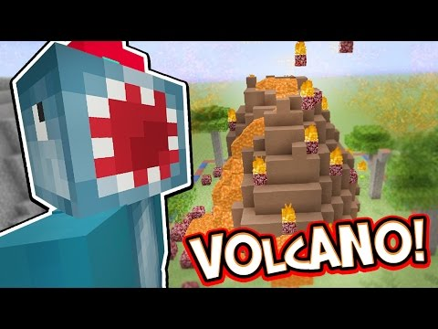 Minecraft Xbox - VOLCANO!! - Building Time! [#59]
