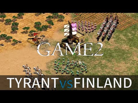 Tyrant vs Finland | Game #2 | Best of 5