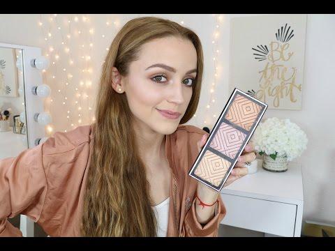 Makeup Geek X KathleenLights Highlighter Palette | Info & Swatches