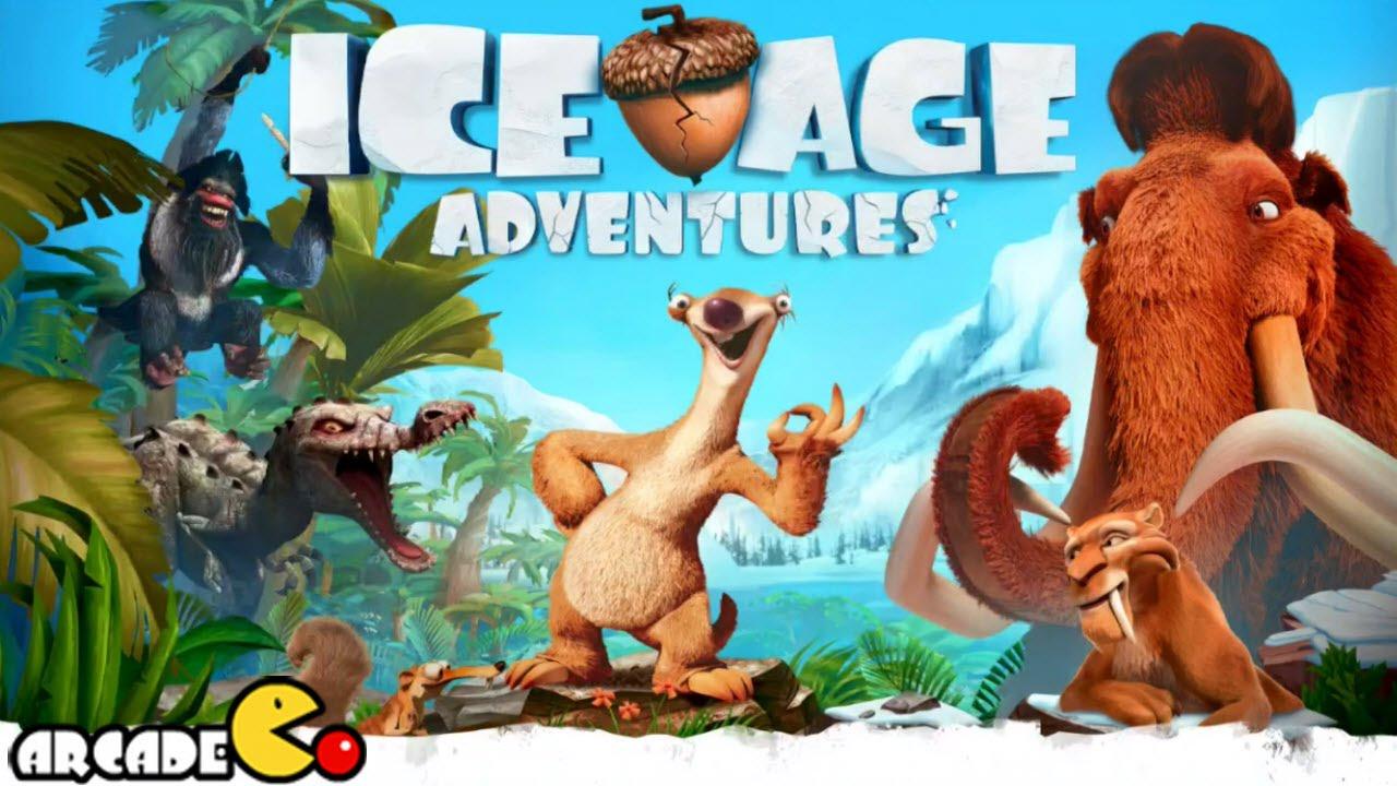 لعبه Gameloft المسليه : Ice Age Adventures v1.8.1D مهكره جاهزه