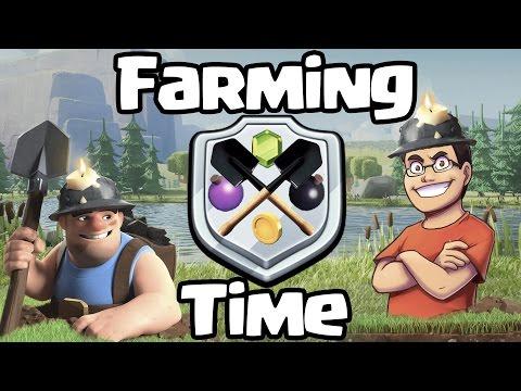 ¡¡¡ROBANDO COMO LOCO CON TODO MINEROS!!! | Farming Time | Clash of Clans con TheAlvaro845 | español