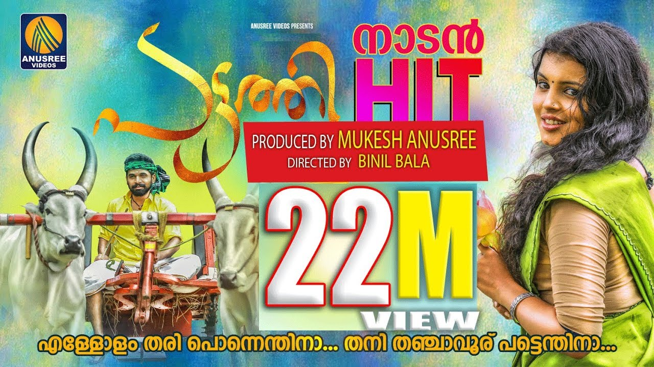 Download Pattathi   Official Video Song   Ellolam Thariponnendhina   Malayalam Latest Music   Mukesh  Anusree