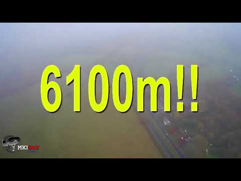 Hubsan H501S-S - Long Range FPV - 6100m - (6.1km) - (World record distance?)