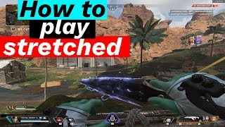 How to play STRETCHED WITHOUT BLACK BARS & More! (Apex Legends Tips & Tricks)