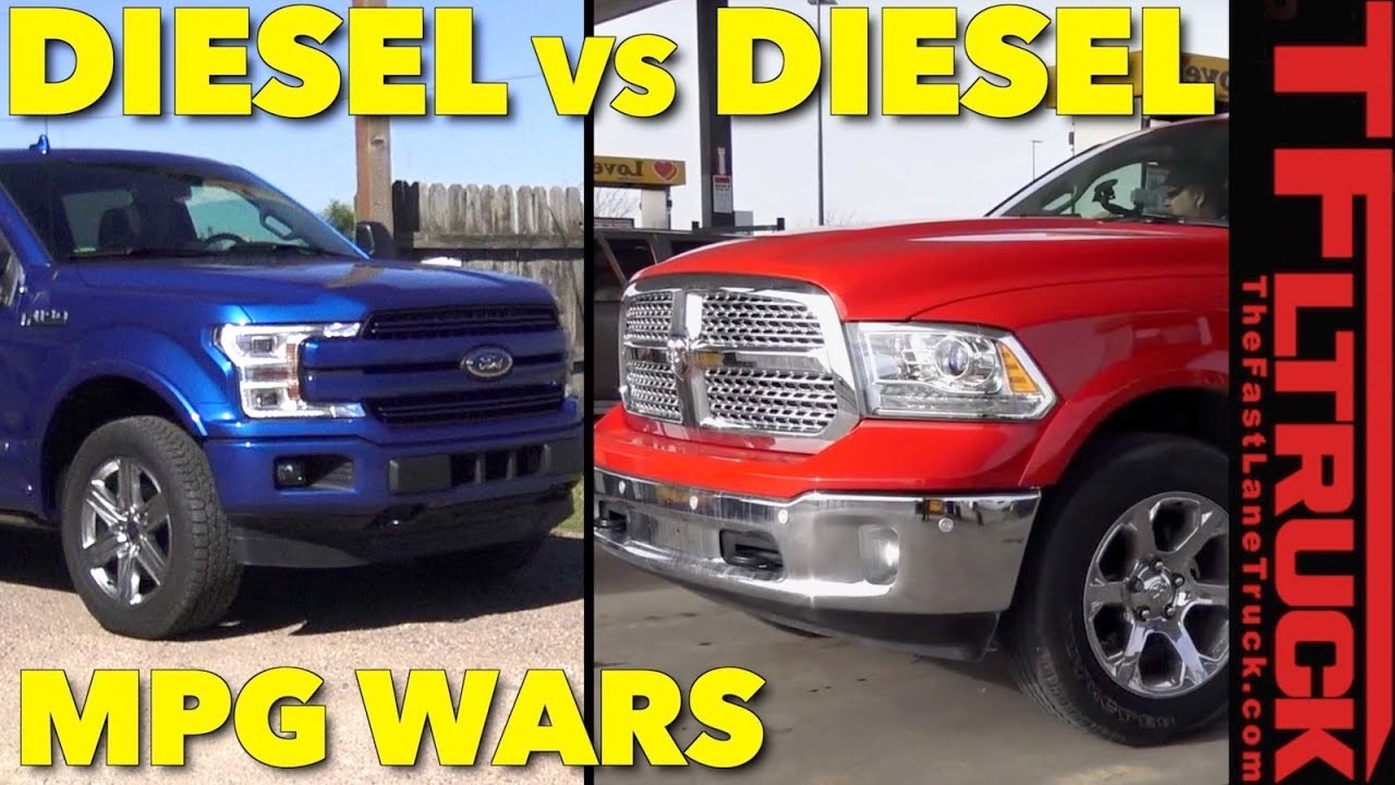 Mpg challenge how thirsty is the new ford f 150 diesel empty and towing