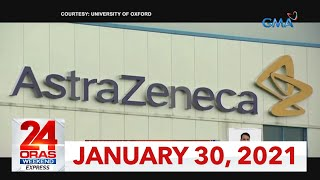 24 Oras Weekend Express: January 30, 2021 [HD]
