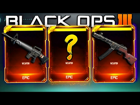 CALL OF DUTY BLACK OPS 3 SUPPLY DROP OPENING!