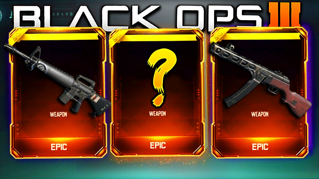 CALL OF DUTY BLACK OPS 3 SUPPLY DROP OPENING! - YouTube