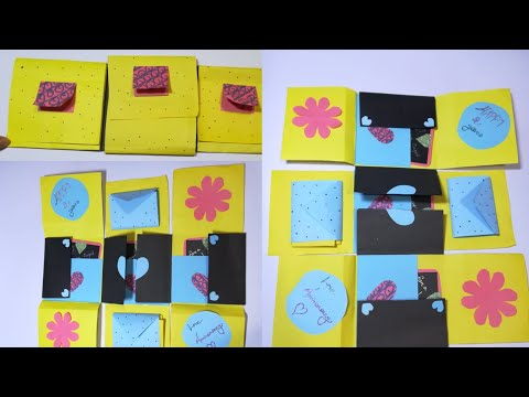 How to make a card. Diy card. Birthday gift. Gift ideas,