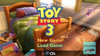 Toy Story 3  PSP Gameplay