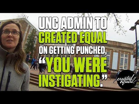 UNC Administrator Victim Blames Created Equal