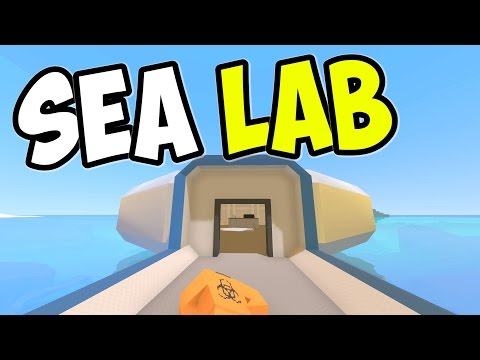 "UNTURNED - ""Undersea Laboratory!!"" Episode 74 (Unturned Role-play Hawaii Playthrough)"