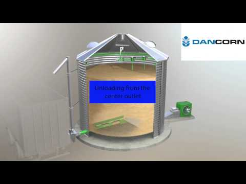 DRYING SILO SUKUP - WORKING PROCESS VIDEO