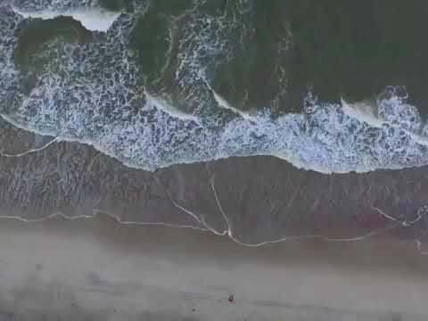 NC beach drone