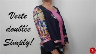 Coucou les coutureux (et reuses) :) Aujourd'hui je vous propose une veste d'été doublée :) Avec 1.2 m de doublure et 1.40 de tissu pour l'extérieur et hop ma ...