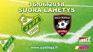 16.06.2018 JyPK - Pallokissat klo 15.30 Naisten Liiga