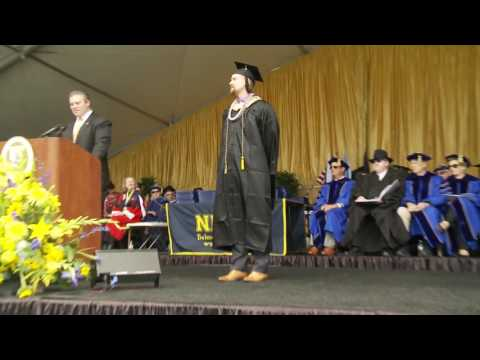 Belmont Mayor Charles Stone: NDNU Commencement 2017