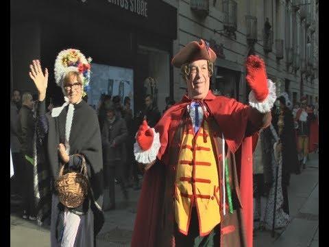 Al Via Il Carnevale Torinese Sfilata Con Gianduja E Giacometta