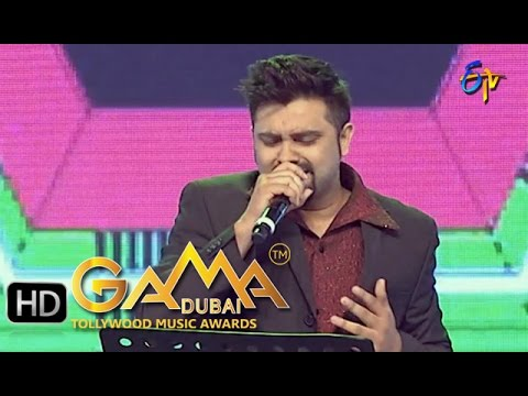 Charusheela Song - Yazin Nazeer Performance in ETV GAMA Music Awards 2015 - 6th March 2016