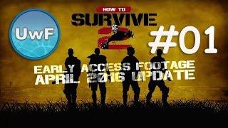 How to Survive 2 - #01 Anfänger Guide | April 2016 Update | German / Deutsch | Gameplay