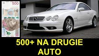 500+, AKCYZA i Mercedes- Benz CL 55 AMG
