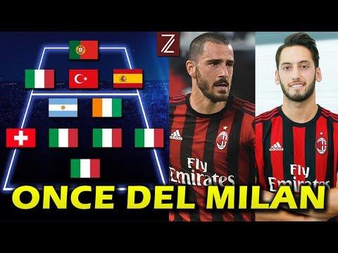Así será el Once del AC Milan con BONUCCI | Temporada 2017/18