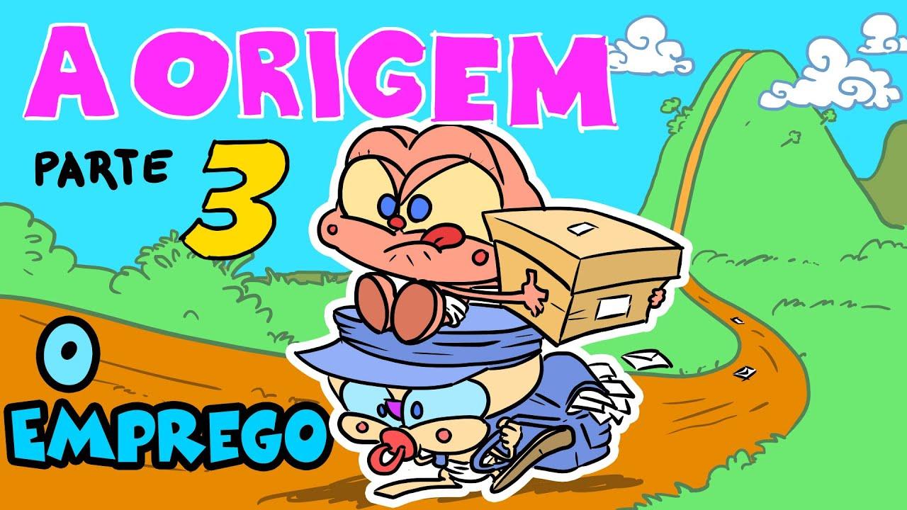 Mongo e Drongo em: A Origem Parte 3 - Como Mongo e Drongo conseguiram emprego - desenho animado